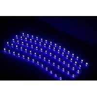 ABN coche flexible impermeable Franja de Luz LED autoadhesiva cinta, 30cm, 5unidades), Azul