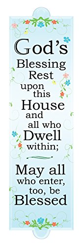 Plaque Housewarming (The Paragon Housewarming Gift - God's Blessing Plaque, Household Blessing Sign)