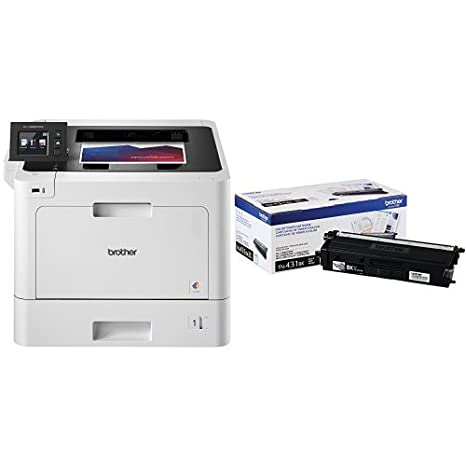 Brother Business Color Laser Printer, HL-L8360CDW, with Standard Yield Black Toner Bundle