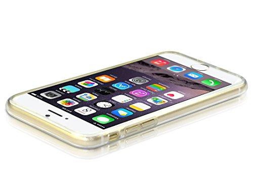 wortek Designer High Quality TPU Silikon - Case für Apple iPhone 6 Plus Schutz Hülle Transparent (iPhone 6 Plus - 5,5 Zoll)