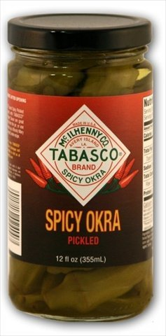 Tabasco Spicy Pickled Okra, 12 Ounce -- 12 per case. by TABASCO brand