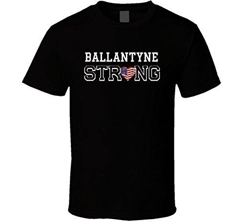 Ballantyne Strong American Pride Family Last Name Usa T Shirt M Black