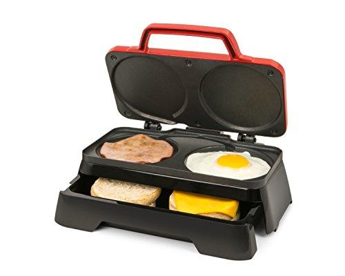 Nostalgia BS20RD Breakfast Sandwich (Breakfast Machine)