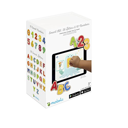 Marbotic Smart Kit (Numbers + Letters) - Interactive learning toys for tablets ()