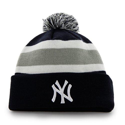 MLB New York Yankees Breakaway Knit, Navy, One Size
