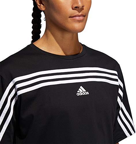 adidas Women's Must Haves Ringer 3-Stipes T-Shirt 5