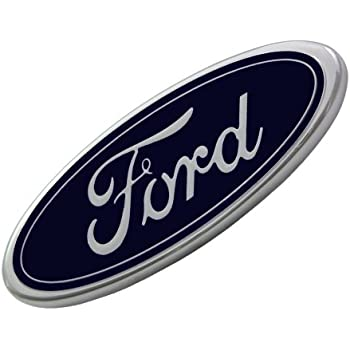 OEM F81Z-8213-AB Blue Oval Grille Nameplate Emblem for Ford Pickup Truck SUV New