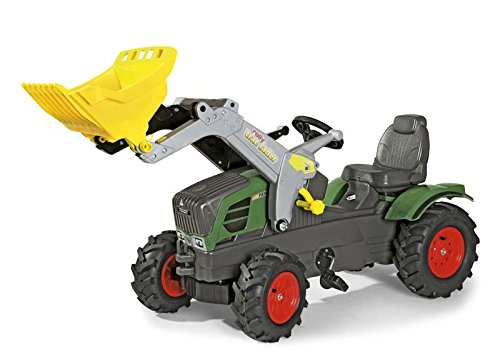 rolly toys Fendt FarmTrac 211 Vario with Front Loader and Air Tires Ride-On by rolly toys