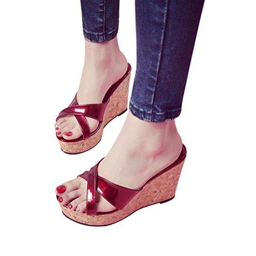 E Aperta Infradito Impermeabili Sandalo col Donna Pelle Scarpa   Scarpa  7112de