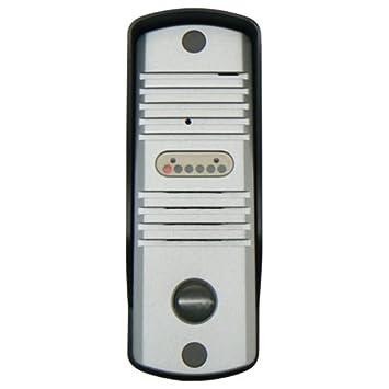 DoorBell Fon S-Series SlimLine Extra Door Station Aluminum (DP38-NSS)  sc 1 st  Amazon.com & Amazon.com: DoorBell Fon S-Series SlimLine Extra Door Station ...