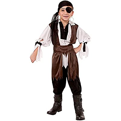 Forum Novelties Caribbean Pirate Child Costume, Medium: Toys & Games