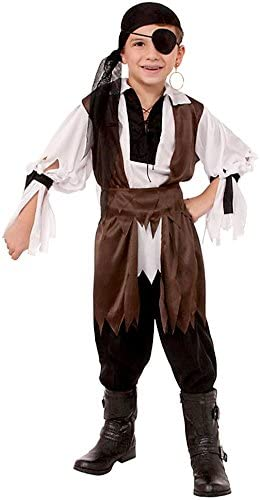Forum Novelties Caribbean Pirate Child Costume, Large