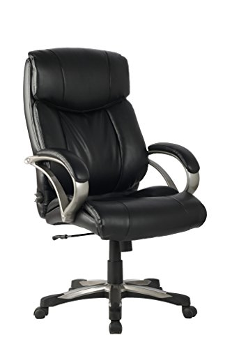 VIVA High Back Ergonomic Leather Chair with Adjustable Lumbar Support