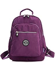 Tiny Chou Waterproof Nylon Backpack Casual Traveling Shoulder Bag Handbag