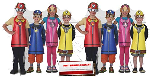 Paw Patrol Wearable Party Costumes 16 Children (Plus Party Planning Checklist)