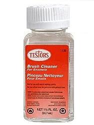 Testors Enamel Plastic Model Paint Thinner & Brush Cleaner, 1.75 oz. by Testor Corp. from TESTORS