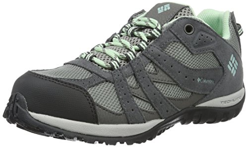 ColumbiaYouth Redmond Waterproof - Zapatillas de Running Chica Gris (Monument/ Sea Ice)