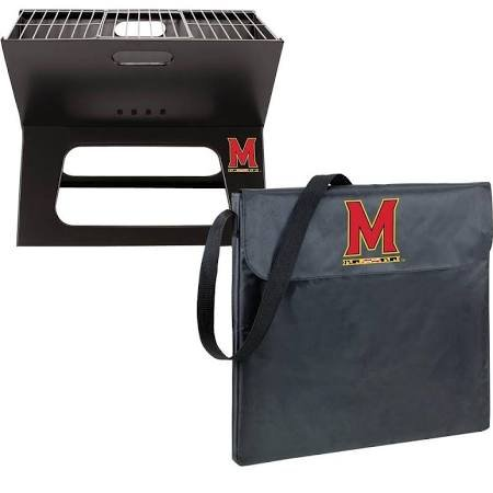 NCAA Maryland Terrapins Portable Charcoal X-Grill