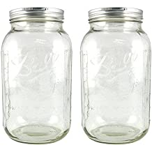 Ball Half-Gallon Jars, Wide Mouth, Set of 2