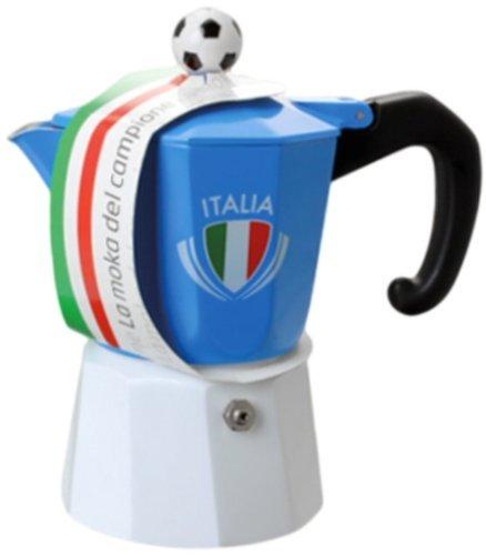 """Cheap Forever: """"La Moka Del Campione (The Champion's Moka) – 1 Cup – for The Italian Soccer Team Fan [Italian Import]"""
