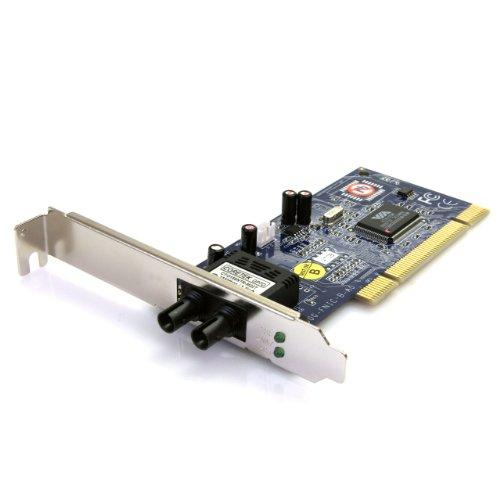 StarTech.com PCI100MMST 100Mbps PCI Multi Mode ST Fiber Ethernet NIC Network Adapter 2km by StarTech
