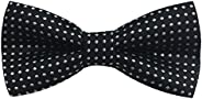 Boys Girls Baby Children Solid Color Satin Bow Ties Bowtie