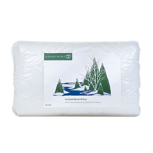 Department 56 Accessories for Villages Ice Crystal Blanket of Snow Accessory]()