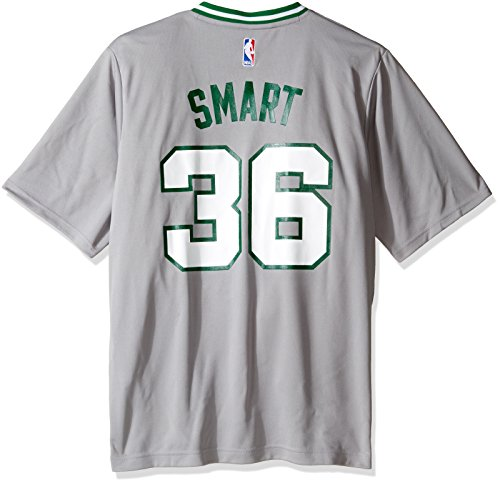 NBA Boston Celtics Marcus Smart #36 Men's Pride Replica Jersey, X-Large, Gray