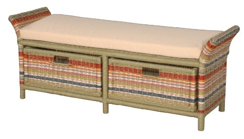 Jeffan International Funstripes Double Bench by Jeffan International