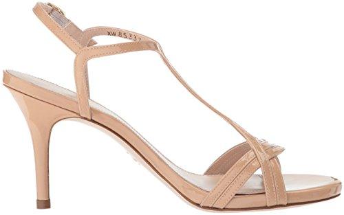 Heeled Stuart Weitzman Aniline Women's Adobe Sunny Sandal qwAxt6P7w