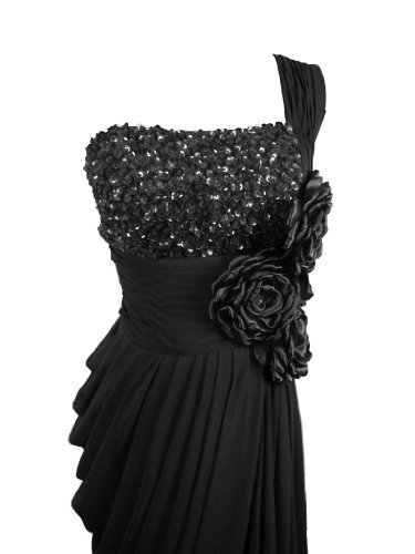 Kleid Damen Schwarz Y Fashion Alivila AqwXfX