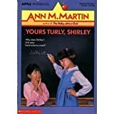 Yours Truly, Shirley, Ann M. Martin, 0590428098