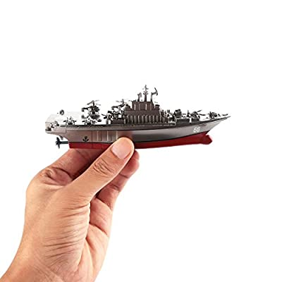 Remote Control Ship, Homure Radio Remote Control Rc Battle Warship Boat - 2.4GHz High Speed Electric - Aircraft carriers War Ship