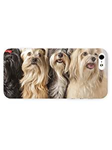 3d Full Wrap Case for iPhone 5/5s Animal Adorable Dogs73