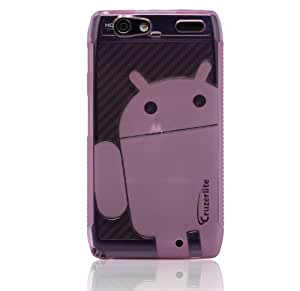 Pink - Cruzer Lite Androidified A2 High Gloss TPU Soft Gel Skin Case - For DROID RAZR MAXX [Cruzer Lite Retail Packaging]