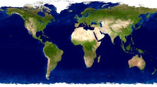 Cartina Satellitare Mondo.Nasapete Mondo Terra Foto Satellitari Carta Paese Foto Da Parati Mappa Del Mondo Immagine Xxxl Poster 10 Tracce 465 X 260 Cm Amazon It Fai Da Te