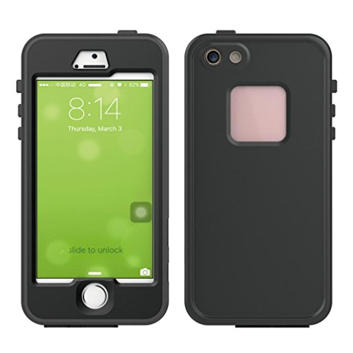 for-iphone-se-5s-mchoice-ipx8-waterproof-shockproof-dustproof-case-cover-for-iphone-se-5s-black