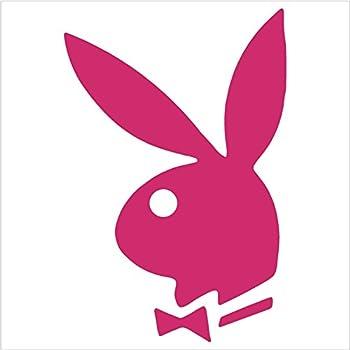 Amazon.com: 2 Playboy Bunny Logo Vinyl Decal Sticker Auto ...