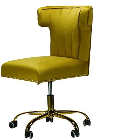 Alla Velvet Wingback Task Chair