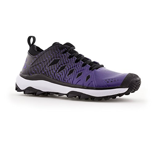 cheap sale best store to get manchester great sale Boombah Men's Squadron Turf Shoes - 20 Color Options - Multiple Sizes Black/Purple buy cheap best store to get ZgcVsEABH