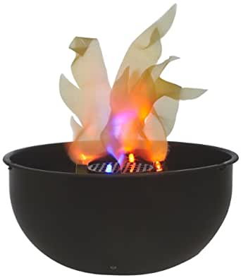 Fortune Products FLM-200 Battery Operated Flame Light, Black