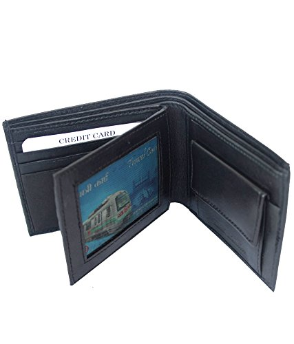 S2m Leather Black Men S Wallet Size 12 Cm X 11 Cm Amazon In Bags