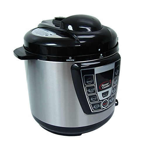 Power Cooker Digital Electric Pressure Cooker 6-Quart (Certified Refurbished) by Power Cooker (Image #2)