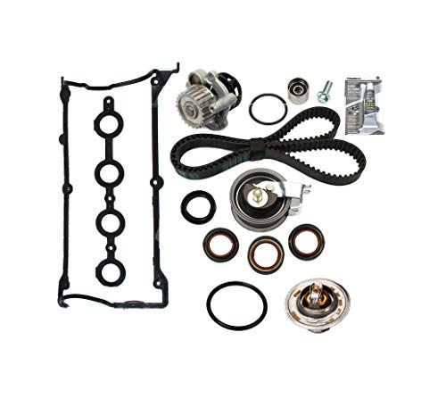 - Timing Belt Water Pump Valve Cover Gasket + Thermostat Set compat w/Audi VW 1.8T