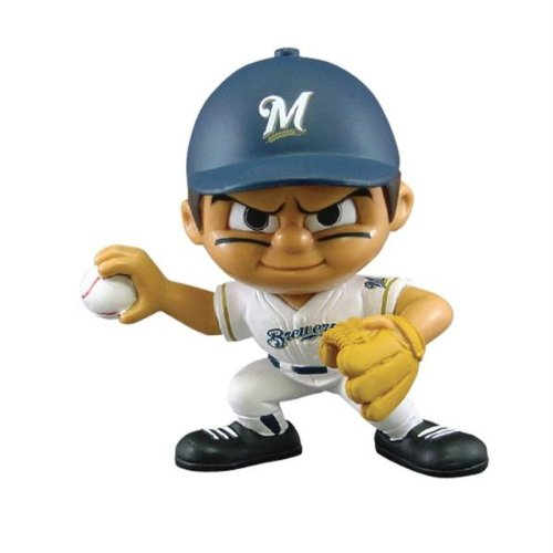 Milwaukee Brewers Pitcher - Lil' Teammates Milwaukee Brewers Pitcher MLB Figurines