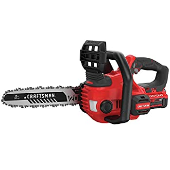 Image of Home Improvements CRAFTSMAN V20 Cordless Chainsaw, 12-Inch (CMCCS620M1)