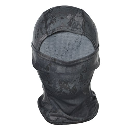[Hisea Balaclava Ski Full Face Mask - Tactical Balaclava Hood for Women Men Kids with Quick Dry Fabric for Cycling, Riding, Training, Skiing, Snowboarding, Motorcycling & Winter Sports,] (Ninja Suits For Sale)