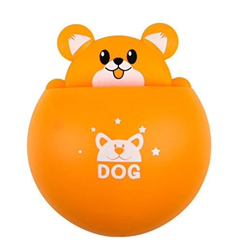Chige Cute Cartoon Dog Kids Wall Mirror Suction Cup Mount To