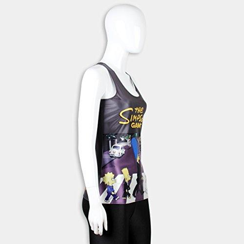 Belsen - Camiseta sin mangas - para mujer negro