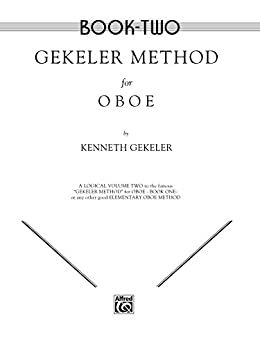 """""TXT"""" Gekeler Method For Oboe, Book II: 0. ripetas presunta JEANS producer swing weekend Leather compania"